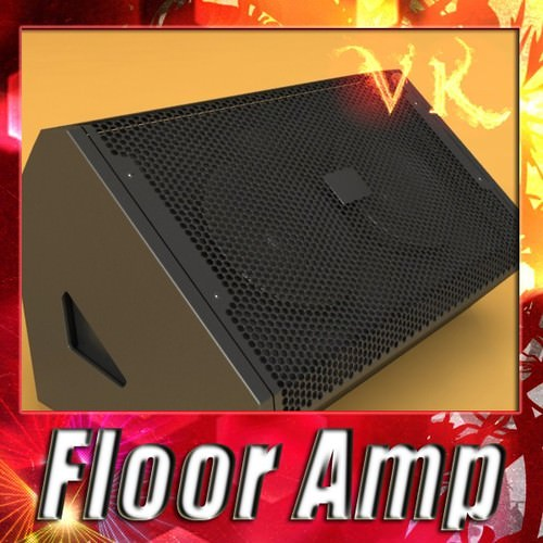Stage Amp High Detail3D model