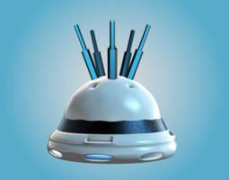 Future Subwoofer 3D Model