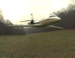 Dassault Falcon 900 3D Model