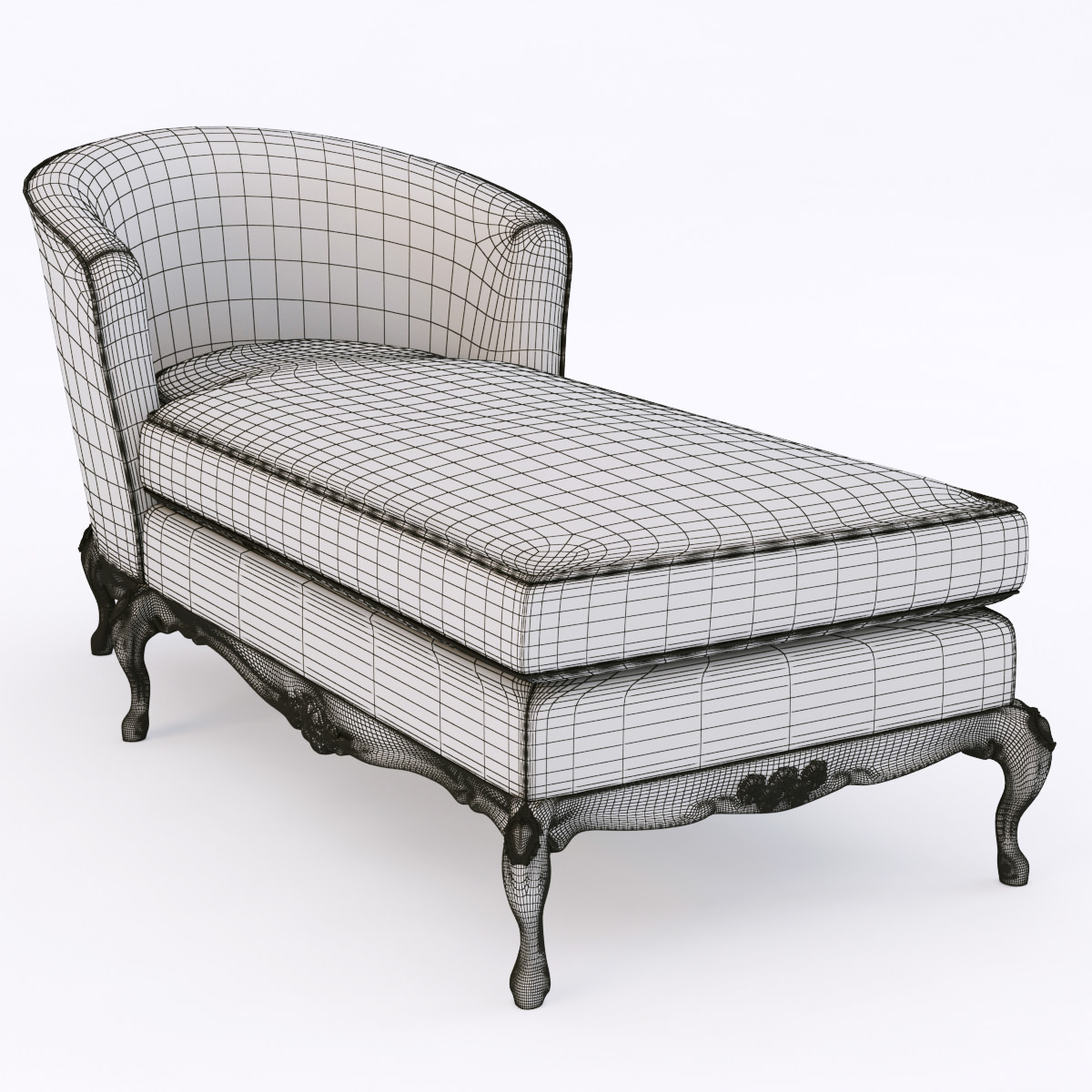 Ralph lauren cannes chaise 3d models for Chaise modele