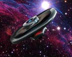 UFO II 3D Model