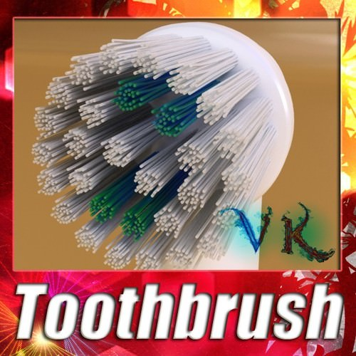 Electric Toothbrush High Detail3D model