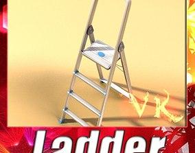 Step Ladder High Detail 3D