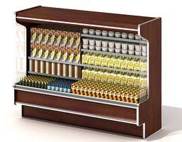 3D model Cold Store Shelf