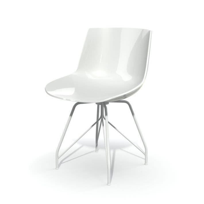 White Fiber Visitor Chair