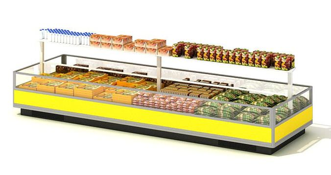 Food Display Center3D model