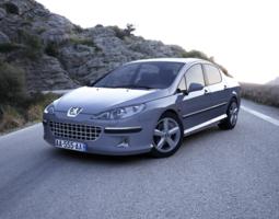 Peugeot 407 3D