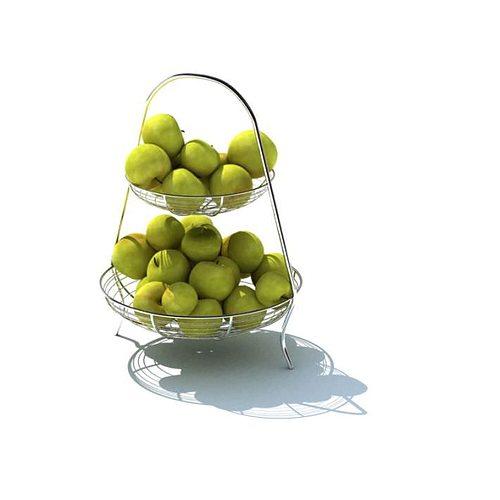 metal fruit stand 3d model  1