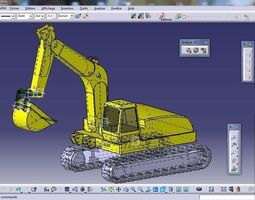 bucket 3D Excavator