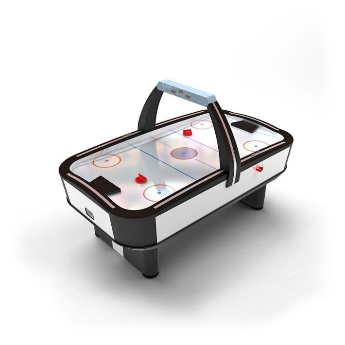 Superbe Air Hockey Game Table 3d Model 1