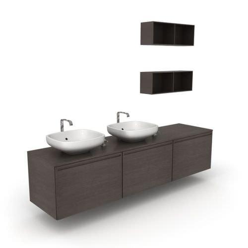 Black Bathroom Furniture3D model