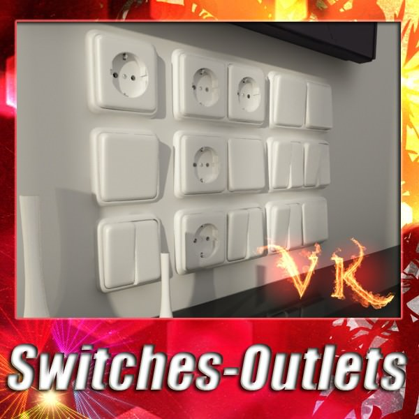 Electric Switch and Outlet Collection