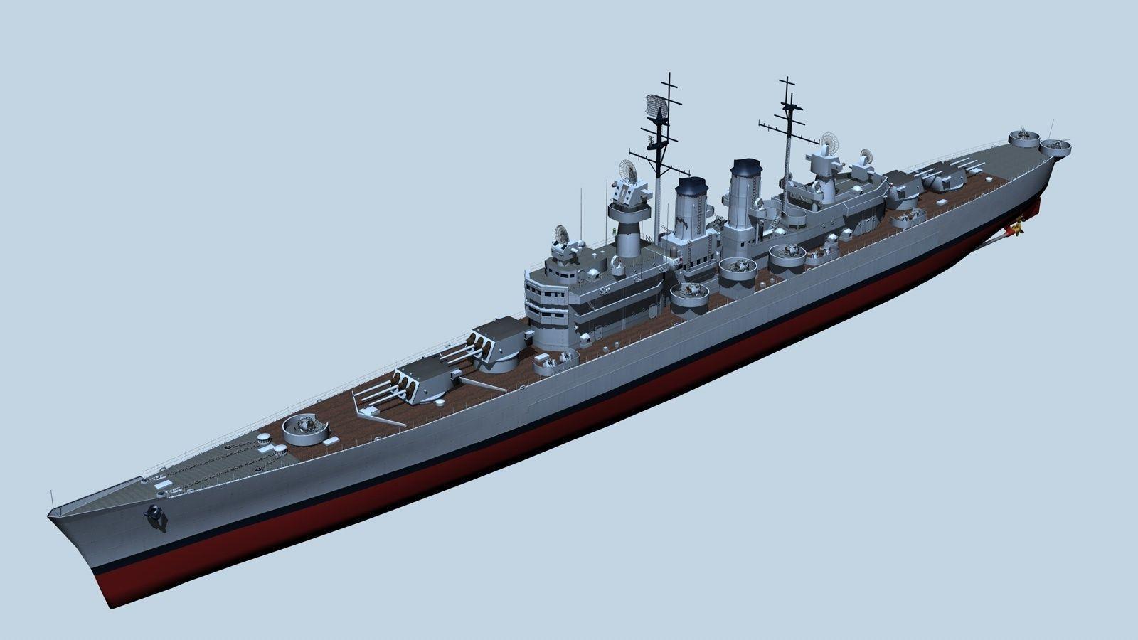 Light Cruiser 3D model