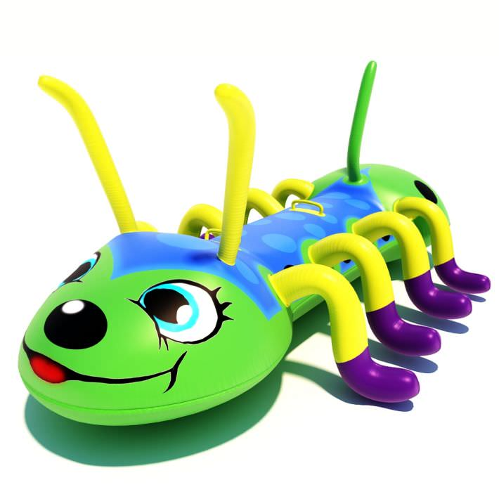 Inflatable Pool Toy Centipede 3D Model