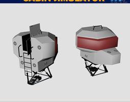 3D Simulator dome