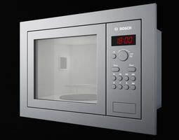 bosch hmt75 m6 kitchen appliance microwave 3d