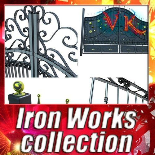 Ironworks collection3D model