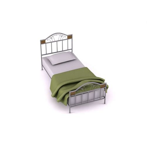 Antique Twin Bed3D model
