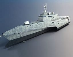 3d military battle ship