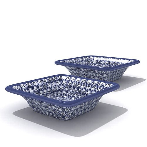 modern purple detailed bowl set 3d model  1