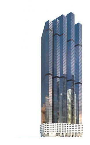 height building 3d model obj 1