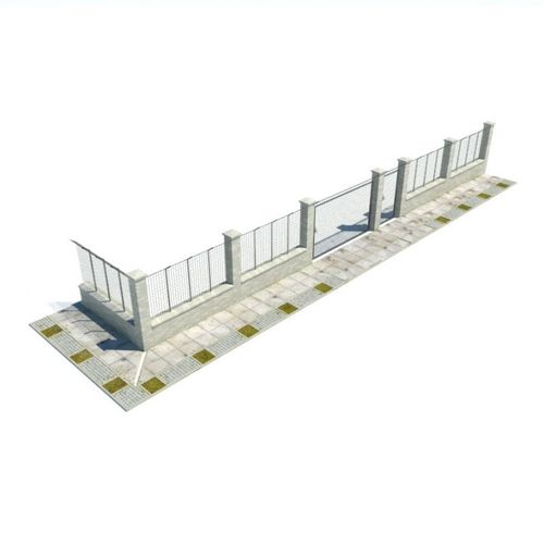 Compound Wall3D model