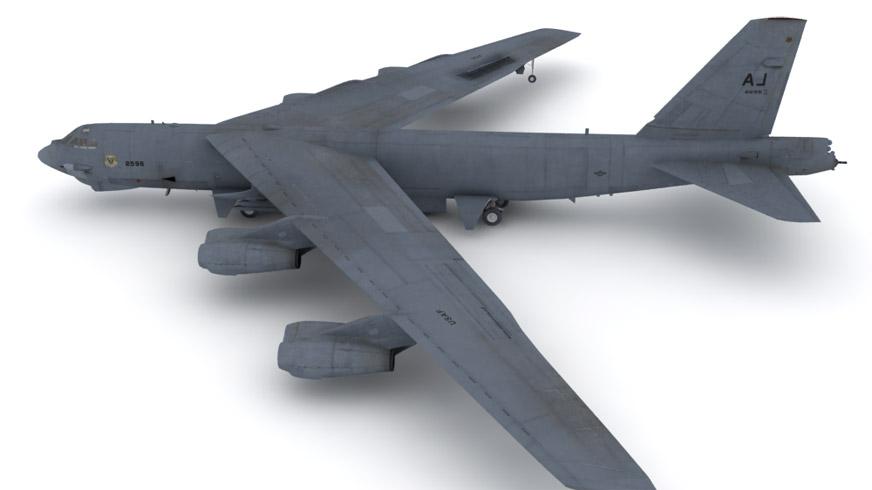 B 52g 3d Model Max Cgtrader Com