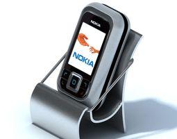 3D model Small Titanium Cell Phone Holder