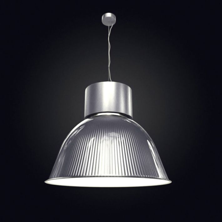 Industrial Pendant Light Fixture 3D Model