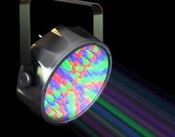 3D Compact Colorful Spotlight