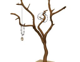 Artificial Tree For Hanging Jewelry 3D
