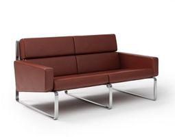 Modern Brown Sofa 3D model