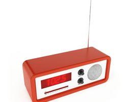 3D Vintage Music Radio