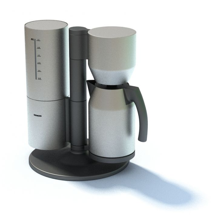 Drip Coffee Maker 3d Model