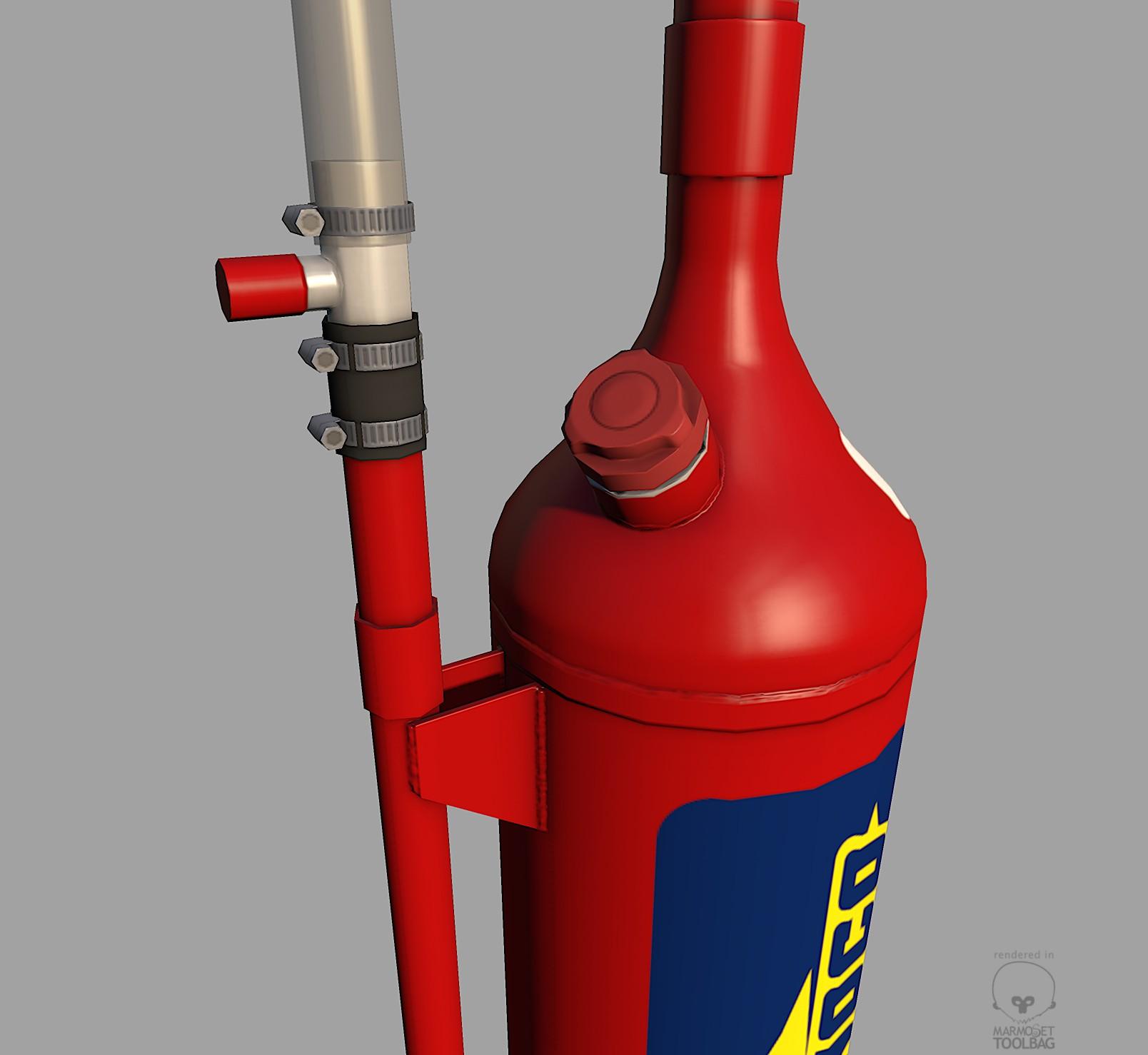 Sunoco Nascar Gascan 3d Model Game Ready Max Cgtrader Com