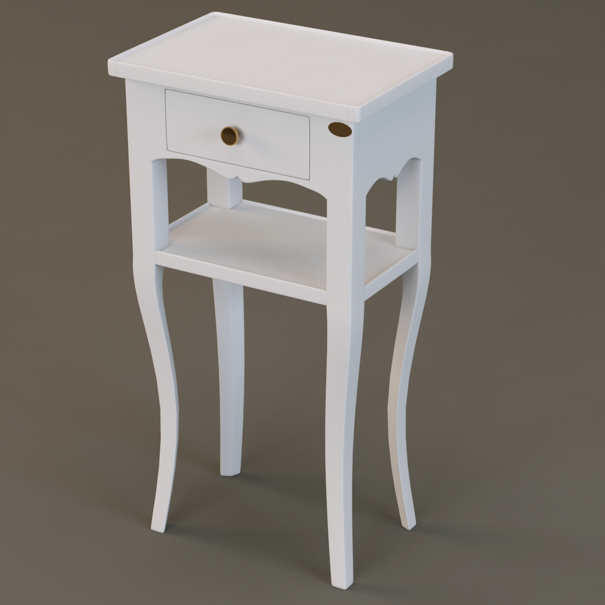 Console table 001 3d model max obj fbx - Table comptoir de famille ...
