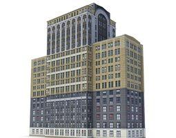 Big Building 3D Model