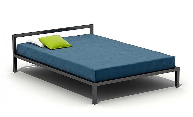 Simple Bed 3D Model CGTradercom