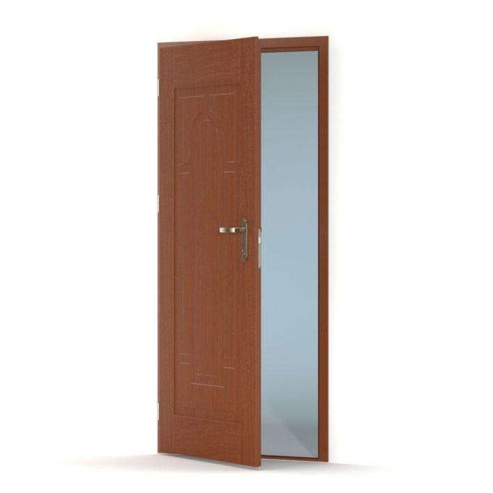 Wooden door 3d model for Door 3d model