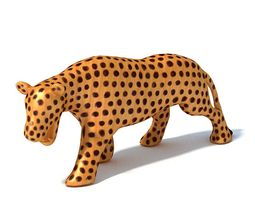 African   Decorative Panther 3D Model