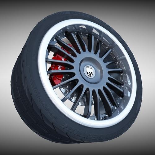 Lumma Racing Wheel3D model