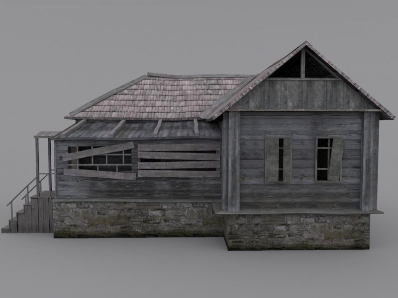 Old model houses