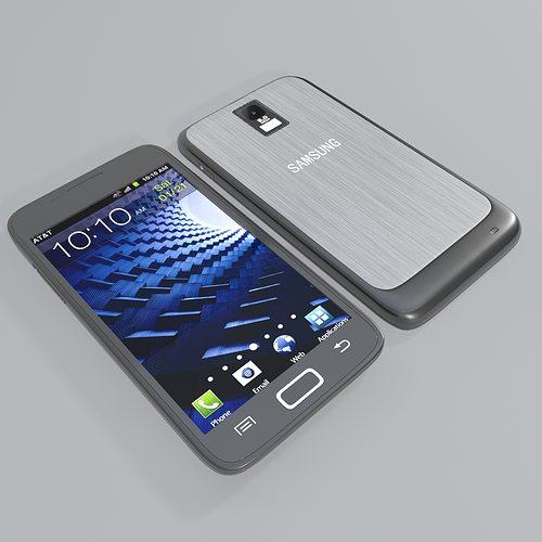 samsung galaxy s ii 3d model max 1
