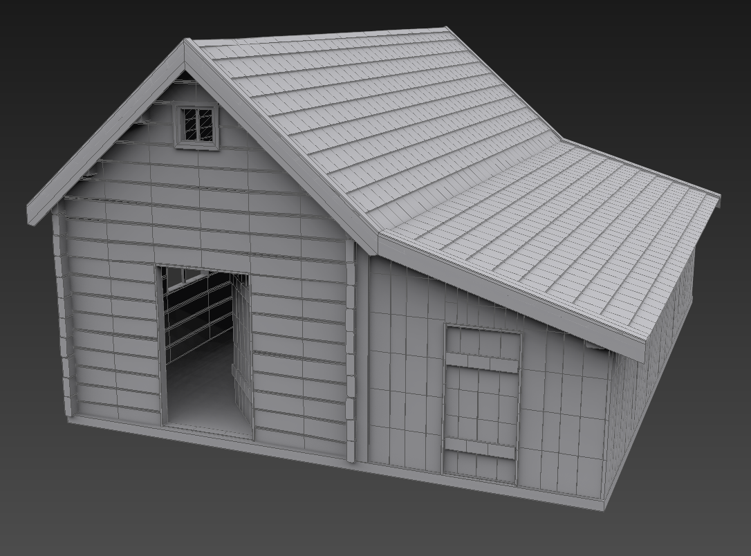 Old house 3d model max for Free 3d house models