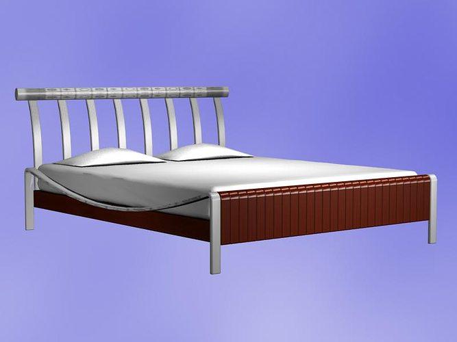 New Model Beds : Bed Model 3D Model DWG  CGTrader.com