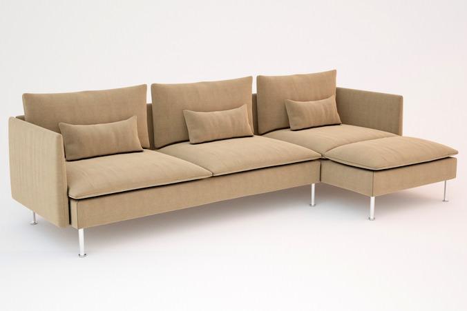 Ikea Soderhamn Sofas 3d Models