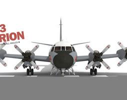 3D P-3 Orion