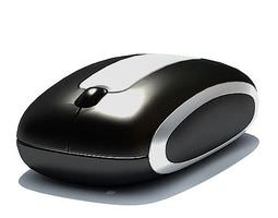 3d model computer  wireless mouse