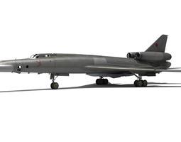 3D model Tu-22B