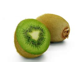 Green Kiwi Fruit 3D